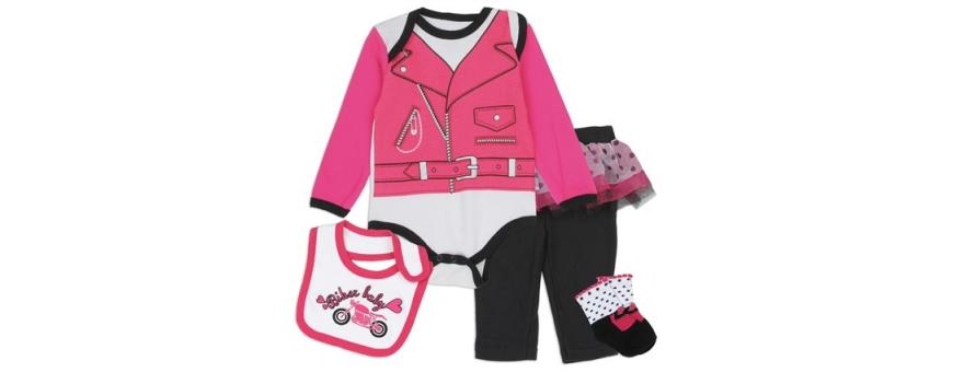 Infant Girls 4 Piece Set