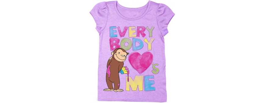 Toddler Girls Short Sleeve Shirts