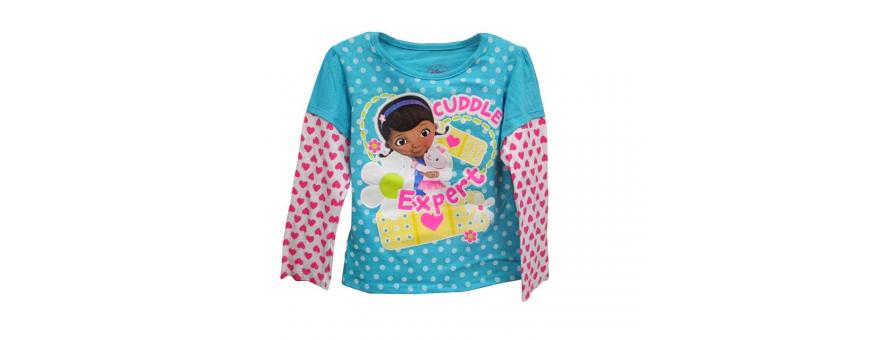 Toddler Girls Long Sleeve Shirts