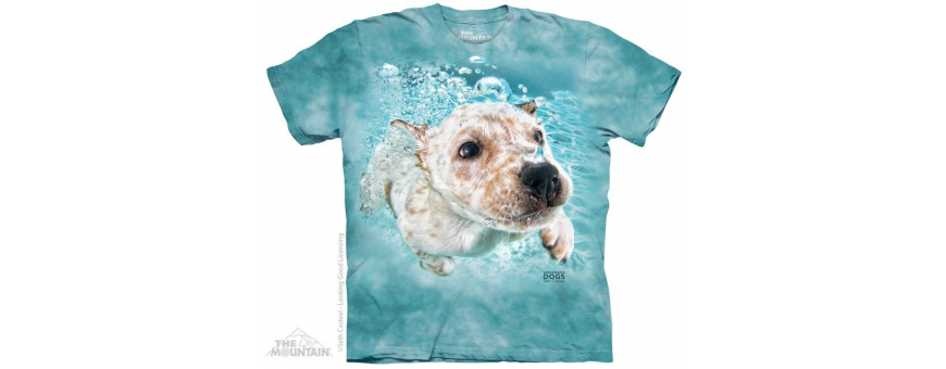 The Mountain Artwear Dogs Boys Shirts
