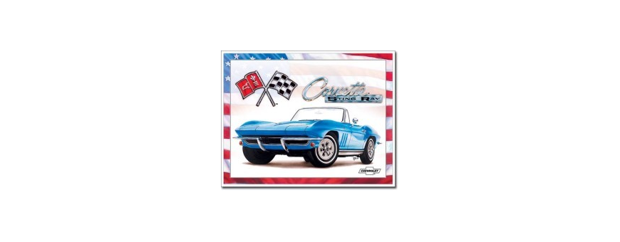 Cars and Motorcycle Tin Signs