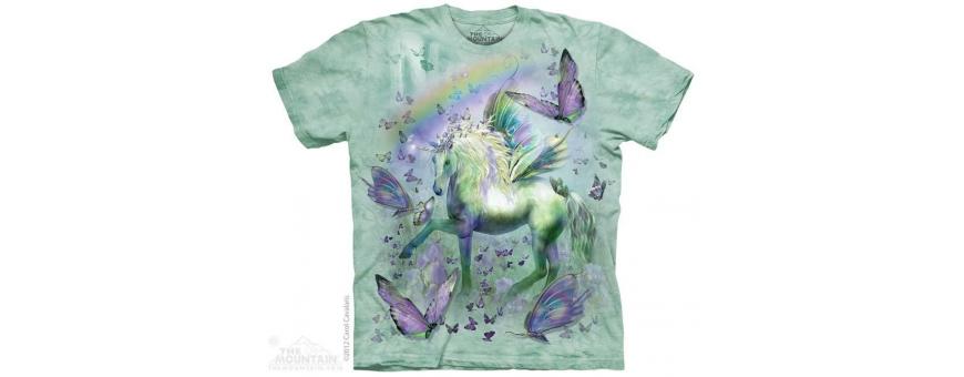 The Mountain Artwear Fantasy Girls Shirts