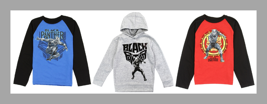 Black Panther Boys Clothes