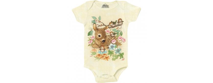 The Mountain Artwear Baby Girls Onesies