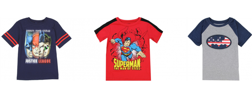 DC Comics Boys Clothes