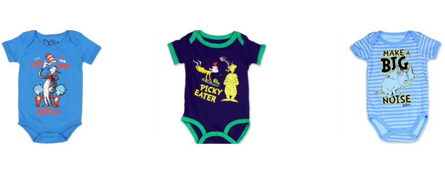 Dr Seuss Boys Clothes