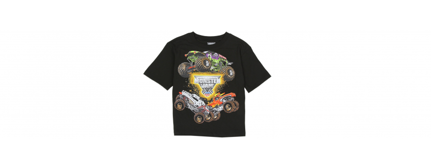 Monster Jam Boys Clothes