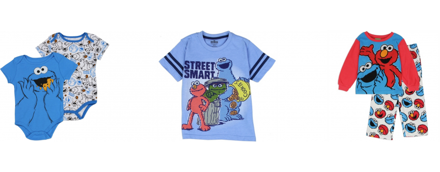 Sesame Street Boys Clothes